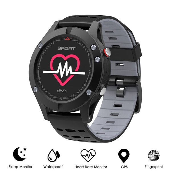Smart Watch Waterproof IP67 Heart Rate Monitor GPS Multi-Sport Mode OLED Altimeter Bluetooth Fitness Tracker Android IOS