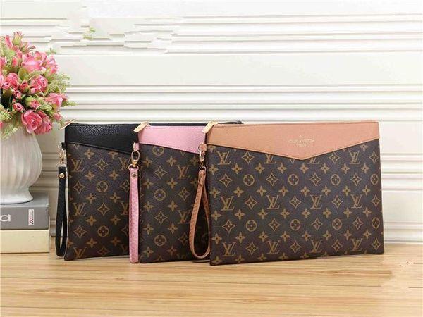 2018 neue kleine frische mehrfarbige kleine quadratische Tasche Brief Handtasche Männer und Frauen Mode Hand personalisierte tragbare Kosmetiktasche