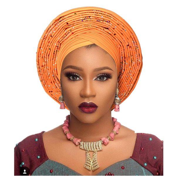 Compre Mujeres Exuberantes Headwear Headwrap African Head Wrap Banadana Banda De Pelo Turbante A 5757 Del Afantijewelry Dhgatecom