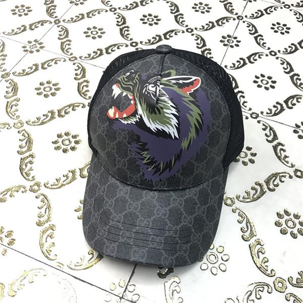 2019 популярный ICON кепка Хип-Хоп Бейсболка Шляпа металлическая Аниме с принтом животных Бренд Шапки для Мужчин Женщин Snapback