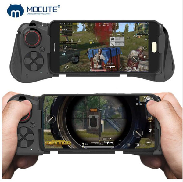 Mocute 058 Wireless bluetooth Mobile Gamepad Android Joystick VR Telescopic Game Controller For iPhone Huawei Phone TV Box PC Joypad
