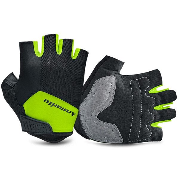 New Summer Sports Shockproof Cycling Gloves Half Finger Bike Gloves Anti Slip MTB Bicycle Guantes Ciclismo #283771