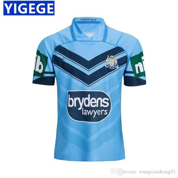 Maillot de football NSW BLUES HOME 2018 Maillot de sport NSW BLUES HOME