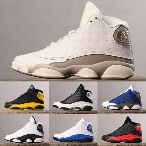 2019 New Top quality XIII 13 Hyper Royal Bred Phantom Flint Love Respect Cap Gown Chicago Red Basketball Shoes Mens 13s Sneakers Shoes