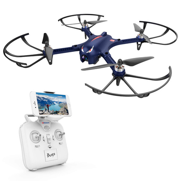DROCON Bugs 3 Powerful Brushless Motor Quadcopter Drone for Adults and Hobbyilists, High Speed Flying Gopro Drone, Suport Gopro HD Camera 4K
