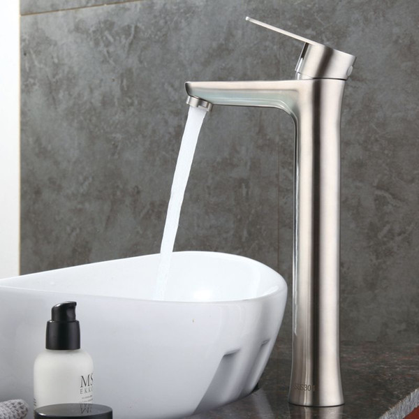 Healthy 304 Stainless Steel Washbasin Hot and Cold Wash High Sanitary Basin Basin Faucet Lead-free Environmentally Friendly Sink Sink Garden