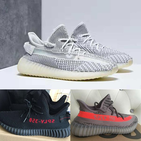best selling Static Clay Running Shoes off Mens Shoes Sneakers Blue Tint triple White Zebre Bred trainers Butter Sesame Womens Designer Shoes 36-46