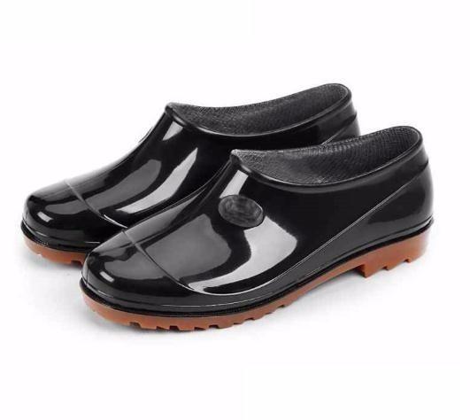 Women Rain Boots Waterproof Shoes Unisex Outdoor Garden Kitchen Lady Smart Shoes Girl's Car Washing Shoes Aw03