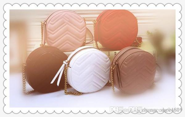 Marmont bolso de la marca superior bolso de alta calidad diseñador en forma de corazón bolsa de Mensajero bolso suave bolso de hombro original de las señoras con la CAJA