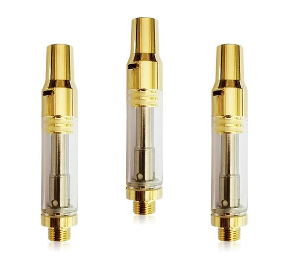 Bud V15 510 Cerámica de embalaje cartucho vacío Vape Pen Pen vaporizador 1ML Aceite de cristal del atomizador cigarrillos e Vape Carros de Oro Tip