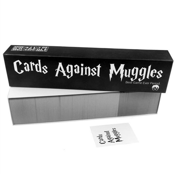 Cards Against Muggles The Harry Potter Version The game strictly for adult&Big Children player Funny Card Games Making Fun 1359pcs/set Real