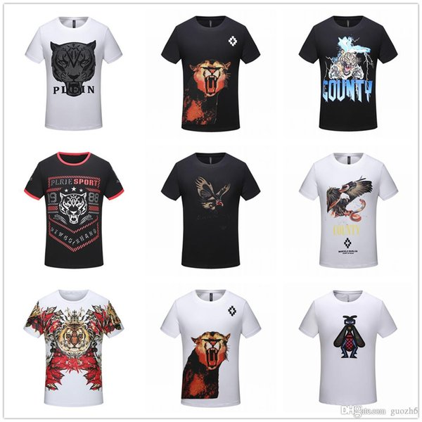 CHEAP Fashion Luxury Summer Designer T Shirts Men Women Embroidery Tops Tiger Head Letter Embroidery T Shirt Male Brand Short Sleeve Tees