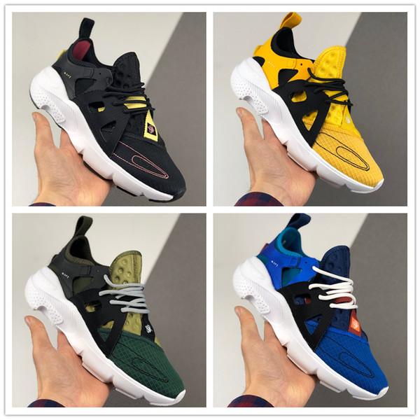 2020 Huarache Tipo corrientes de los deportes Zapatos para los zapatos de los hombres de las mujeres huaraches Rojo Blanco Negro Azul Amarillo Zapatos Moda Deportes zapatillas de deporte Tamaño 36-45