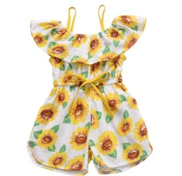 #1 Sunflower Girls Jumpsuits