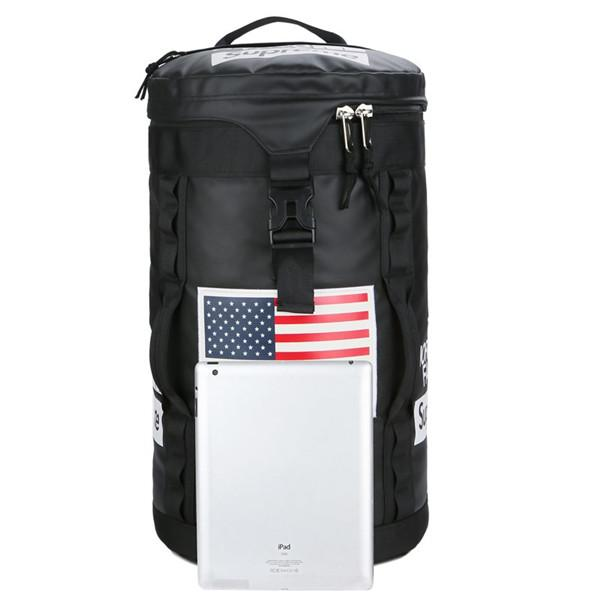 19ss SUP THE NORTH Backpack FACE Lovers Travel Duffel Bag School Shoulder Bags Stuff Sack Sports Backpacks Outdoor Handbag Free Shipping