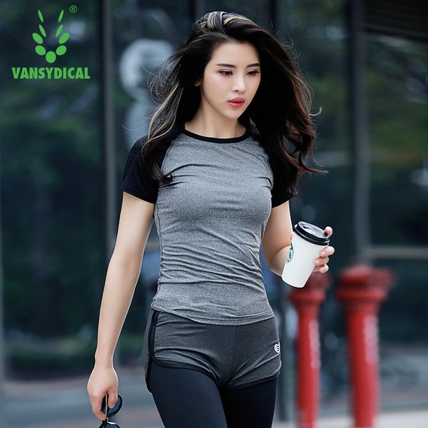 Women Professional Yoga Shirt for Fitness Running Sports T Shirt ,Gym Quick Dry Sweat Breathable Exercises Short Sleeve Tops