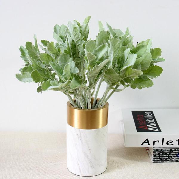 1pc 36cm Bulk Sale Home Decor Artificial Plants Indoor Artificial Greenery Plants Centerpieces Party Wedding Home Garden Decoration
