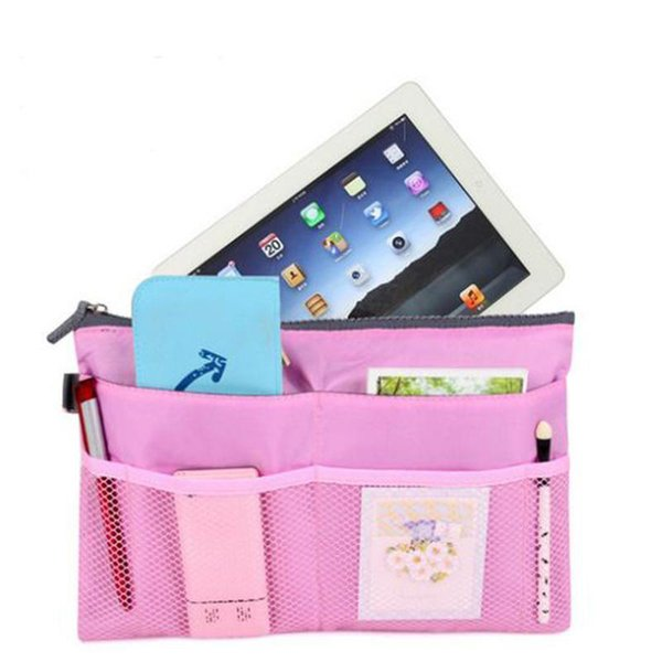 Nice Pop Fashion Ipad Iphone Makeup Handbags Cosmetic Travel Bags Organizer Insert With Pockets Storage Cases
