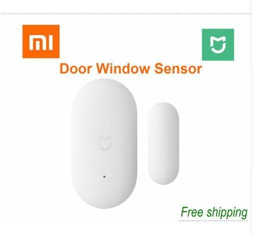 2018 Xiaomi Датчик окна двери карманный размер Xiaomi Умный дом Комплекты Сигнализация работает с шлюзом Mijia Mi Home App