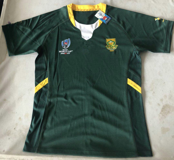 f8720f5cb29 2019 Japan Rugby World Cup South Africa 2019 Home Rugby Shirt training  Rugby World Cup South Africa Home and away Jersey size S-3XL