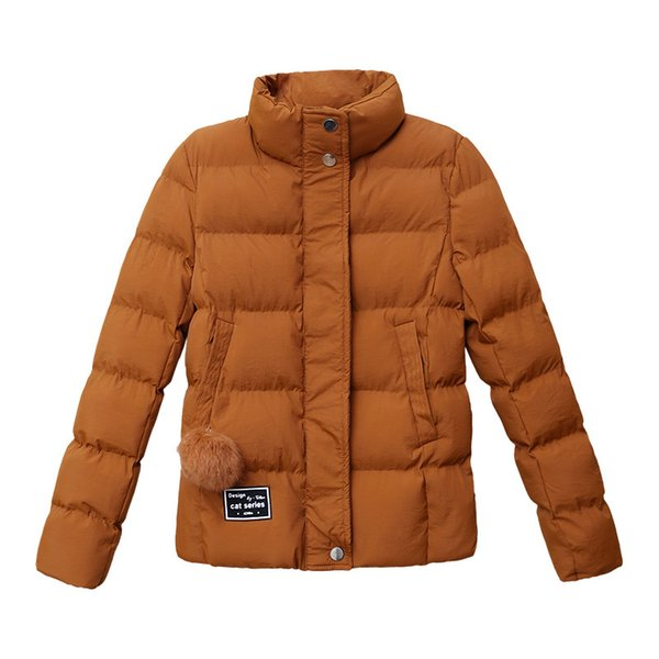 2018 Cheap Autumn Winter Coats Female Coat Jackets For Women Fashion Short Parka Outerwear Down Quilted Puffer Jacket Harajuku