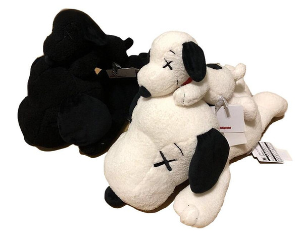 Kaws Snoopy Surprise Bull dog Plush toys Stuffed Animals Husky Key Ring Plush Backpack Accessories Best Girls For Kids