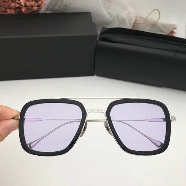 Progressive purple lens
