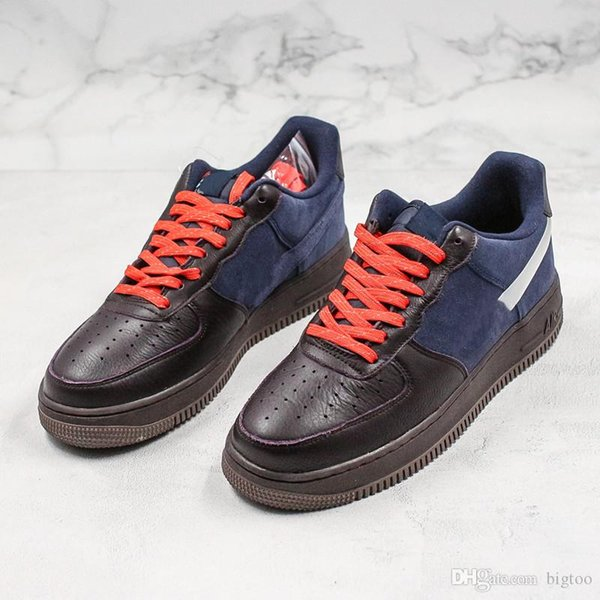 New One 1 Running Shoes For Men Gery Black Blue Mens Trainer Wheat Dunk 1 Sports Sneakers Outdoor Shoes 40-44