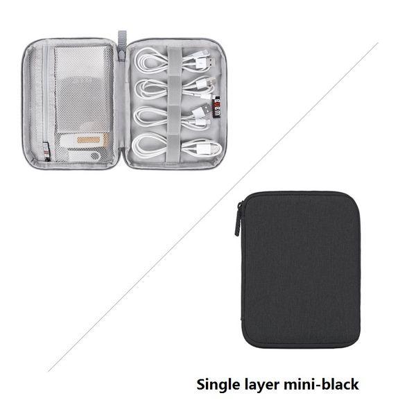 Mini-negro de una sola capa