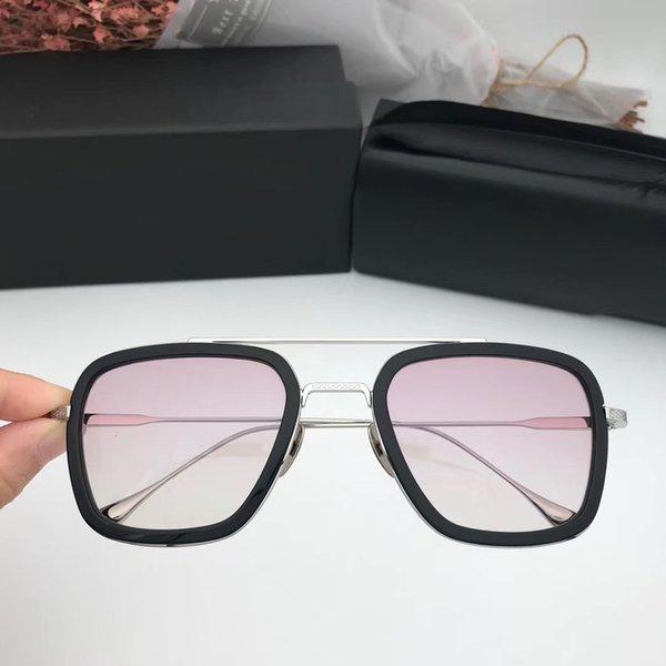 Progressive pink lens