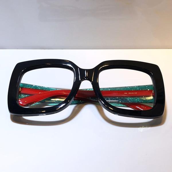 черный с зелеными красными ногами прозрачные линзы