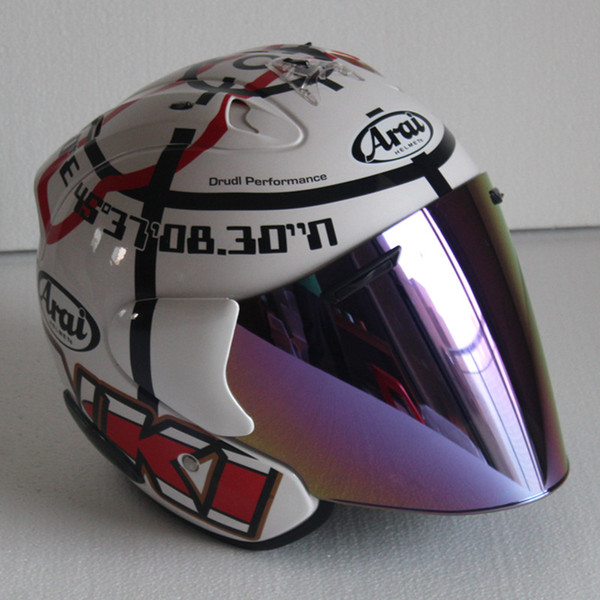 Top hot ARAI 3/4 motorcycle helmet half helmet open face helmet casque motocross SIZE: S M L XL XXL,Capacete000