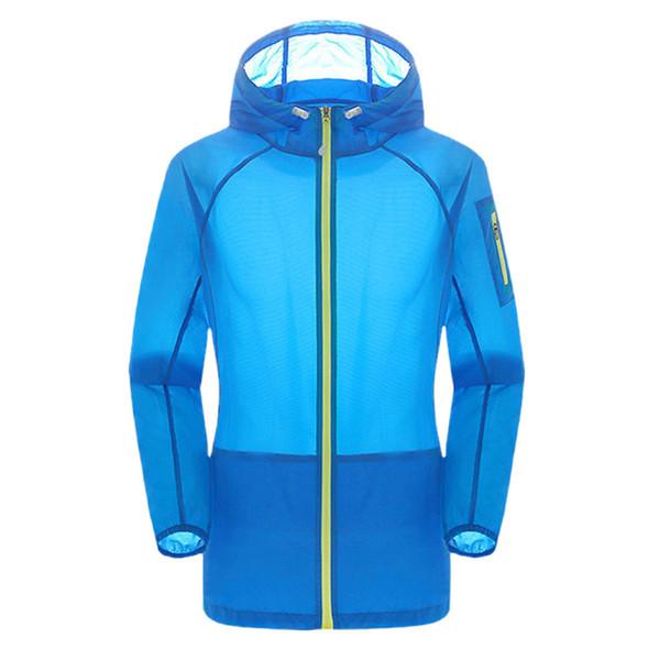 Unisex jaquetas à prova de chuva à prova d 'água Anti-UV Casacos de Roupas Ao Ar Livre Esportes Camping Caminhadas Jaqueta