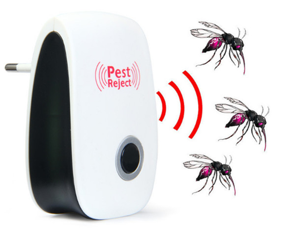 Mini Multi -Use Electronic Ultrasonic Pest Repeller Mosquito Killer Cockroach Mosquito Insect Mice Rodent Repeller Pest Control