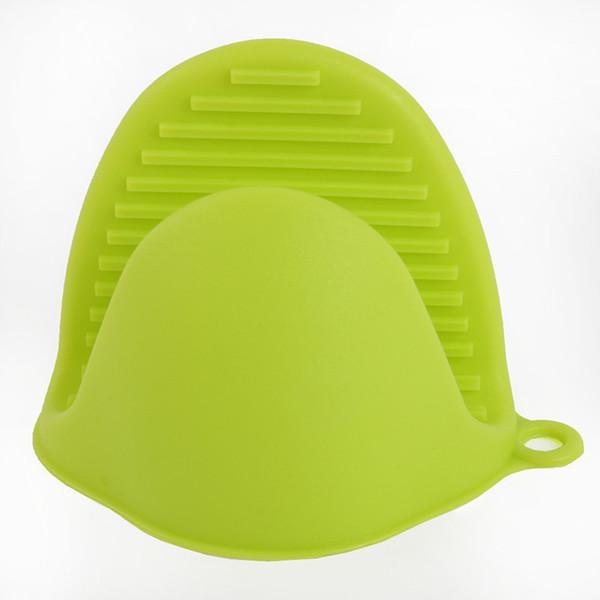 Gant en silicone résistant à la chaleur - Épaissir le bol de gants anti-brûlants en silicone de qualité alimentaire