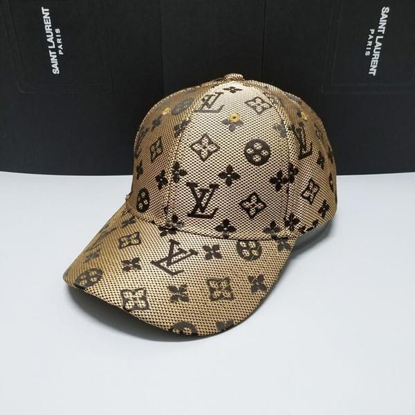 Nuove scelte di design all'ingrosso popolare Lettere di lusso di marca Lettere ICON cappello di alta qualità icona cappello di marca Berretti da baseball per le donne uomini
