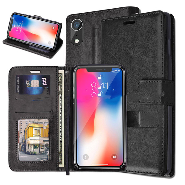 Case For iPX 6 Pattern Leather case Cell Phone Cases Wallet Case Luxury PU Leather Cases Cover Anti-Fall Wholesale Shell Cover