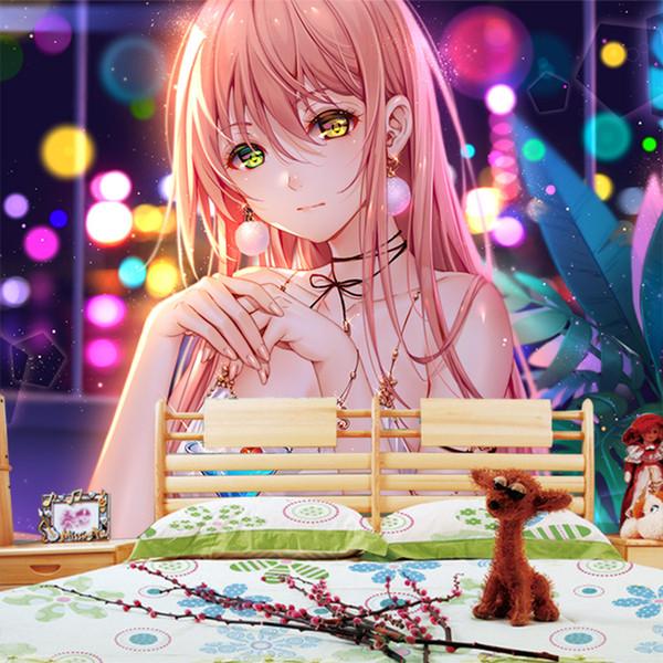 Background Wallpaper Anime Girl
