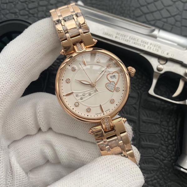 2019 mayorista nueva moda para dama de relojes 33mm marcar relojes del movimiento del cristal de zafiro de la calidad superior del cuarzo de relojes de lujo de acero inoxidable