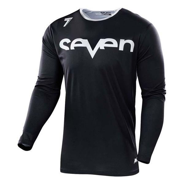 2019 Nuevo estilo Siete bicicleta de manga larga jersey de manga larga Transpirable deporte de montaña carreras de motocross camiseta de ciclismo MX camiseta