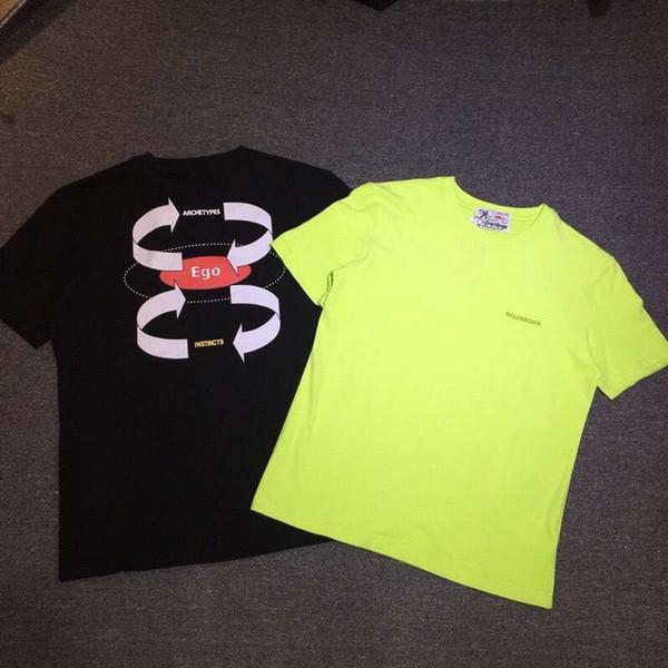 t-shirt vert hommes impression tshirt homme été noir streetwear t-shirt à manches courtes femmes t-shirts camiseta Couple portant chemise homme 12