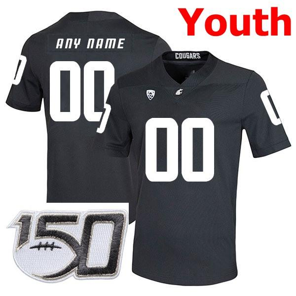 Youth Black With 150th Patch