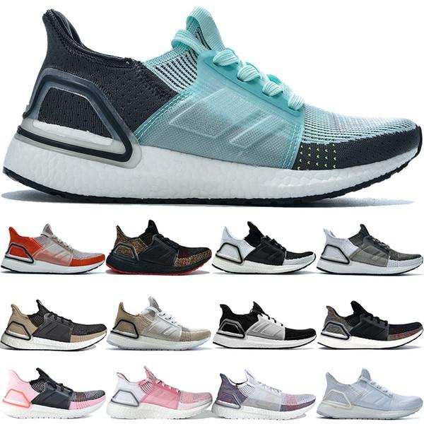 nueva grises de menta adidas ultraboost 5.0 zapatos corrientes de los hombres de las mujeres blancas crudas activo Orange oreo de deporte de lujo para hombre blancas