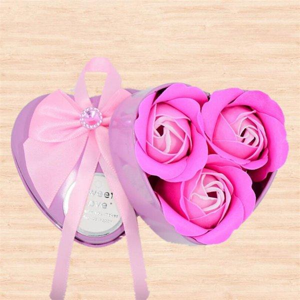 3pcs Rosa