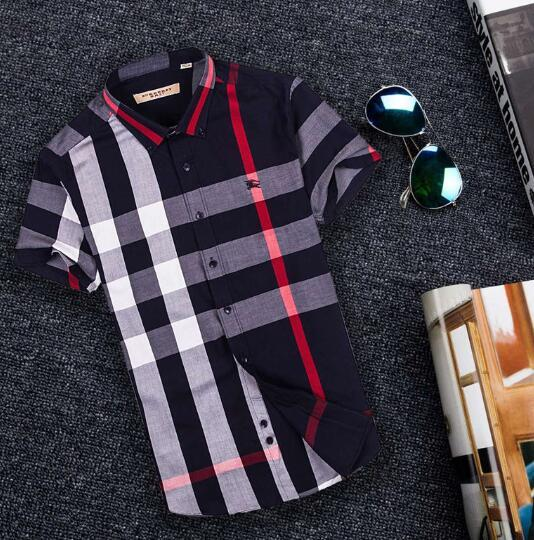 Newest Fashion Autumn Mens Shirt Candy Slim Fit Luxury Casual Stylish Dress Shirts Colours Plus Sizes M-3XL =116