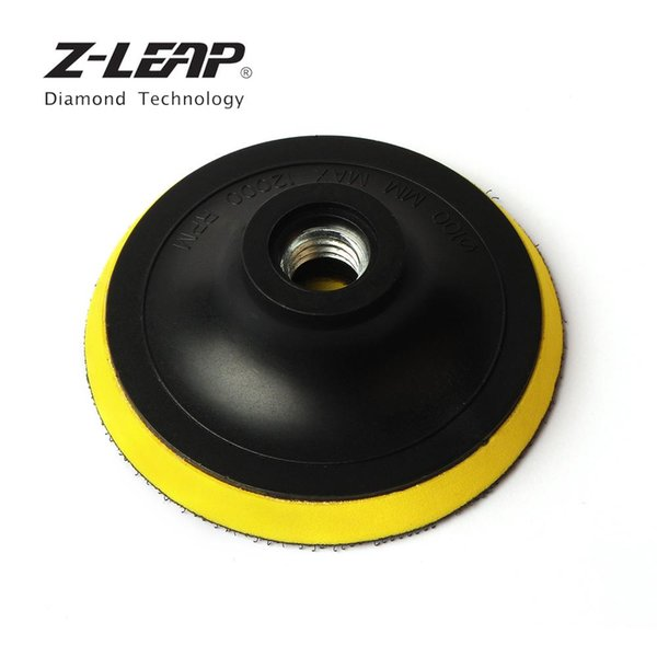 top popular Z-LEAP 4 Inch 5 8-11 Polishing Plate Car Cleaning Tool Backing Buffing Pad Hook And Loop Adhesive Backer Plate For Polisher 2020
