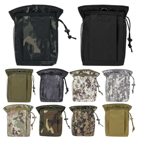 Outdoor Package Pouch Tactical Sports Pendant Military Molle Nylon Radio Walkie Talkie Holder Bag Magazine Mag Pouch Pocket #329597