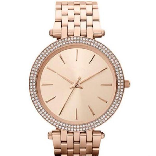 Drop shipping MK3190 MK3191 MK3192 MK3203 MK3215 MK3322 MK3352 MK3353 Top quality women diamond Wristwatches stainless steel watch+box