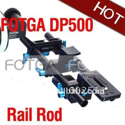 Freeshipping DP500 DSLR rail rod support System 15mm for follow focus 5D II 7D 600D D7000