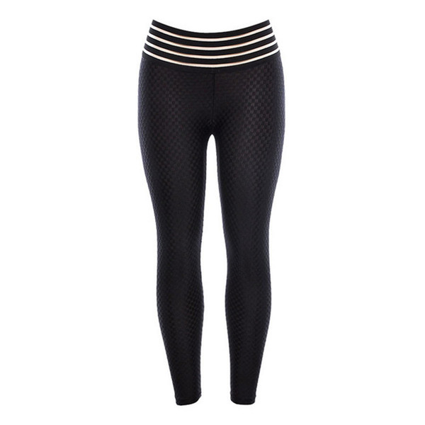Sexy women Hot Yoga Pants Black Sport leggings Push Up Running Tights Gym Clothing High Waist Fitness Athletic Trousers